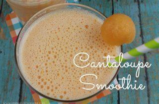Cantaloupe Smoothie Easy Recipe