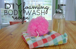 DIY Foaming Body Wash Recipe