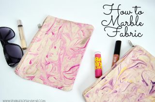 How to Marble Fabric