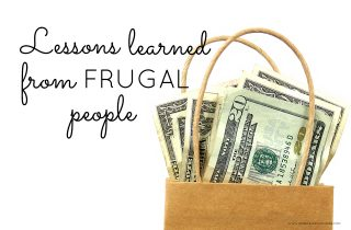 Lessons Learned from Frugal People