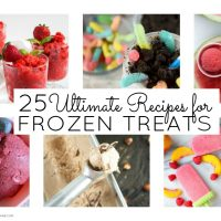 Satisfy your cravings for a cool treat this summer with this collection of 25 ultimate recipes for frozen treats.