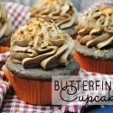 All you love about a Butterfinger, chocolate and peanut butter, in a cupcake! Get the Butterfinger Cupcake recipe today!