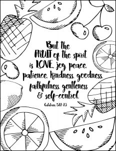 Summer Inspired Free Coloring Pages With Bible Verses - Sparkles of ...
