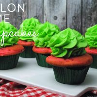 Enjoy the tastes of summer with this flavorful recipe for melon lime cupcakes.