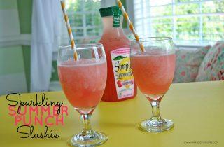 Sparkling Summer Punch Slushie