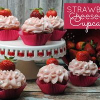 Love strawberries and cream cheese? Then this recipe is for you! These strawberry cheesecake cupcakes are simply divine and packed with heavenly flavor. Get the recipe at Sparkles of Sunshine today.