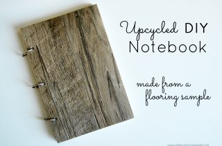 Upcycled DIY Notebook