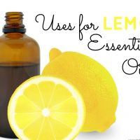 Want to get the most out of your bottle of Lemon Essential Oil? Discover some of the most common uses of lemon oil at Sparkles of Sunshine today.