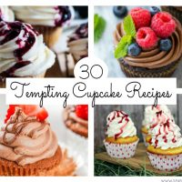 Got a sweet tooth? One of these 30 tempting cupcake recipes is sure to satisfy it! Whether you're a chocolate, caramel, raspberry, lemon or strawberry fan, there's a cupcake recipe here for you!