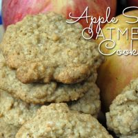 njoy the fall season with apple spice oatmeal cookies, the perfect treat to enjoy with apple cider on cool, crisp days.