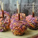 Homemade Gourmet Caramel Apples