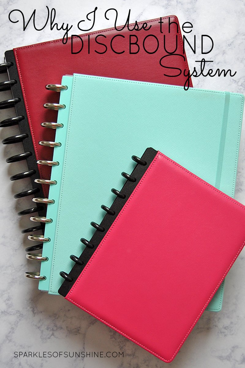 Why i use the discbound system notebooks and planners sparkles of find out why the discbound system of binder notebooks and planners solutioingenieria Gallery