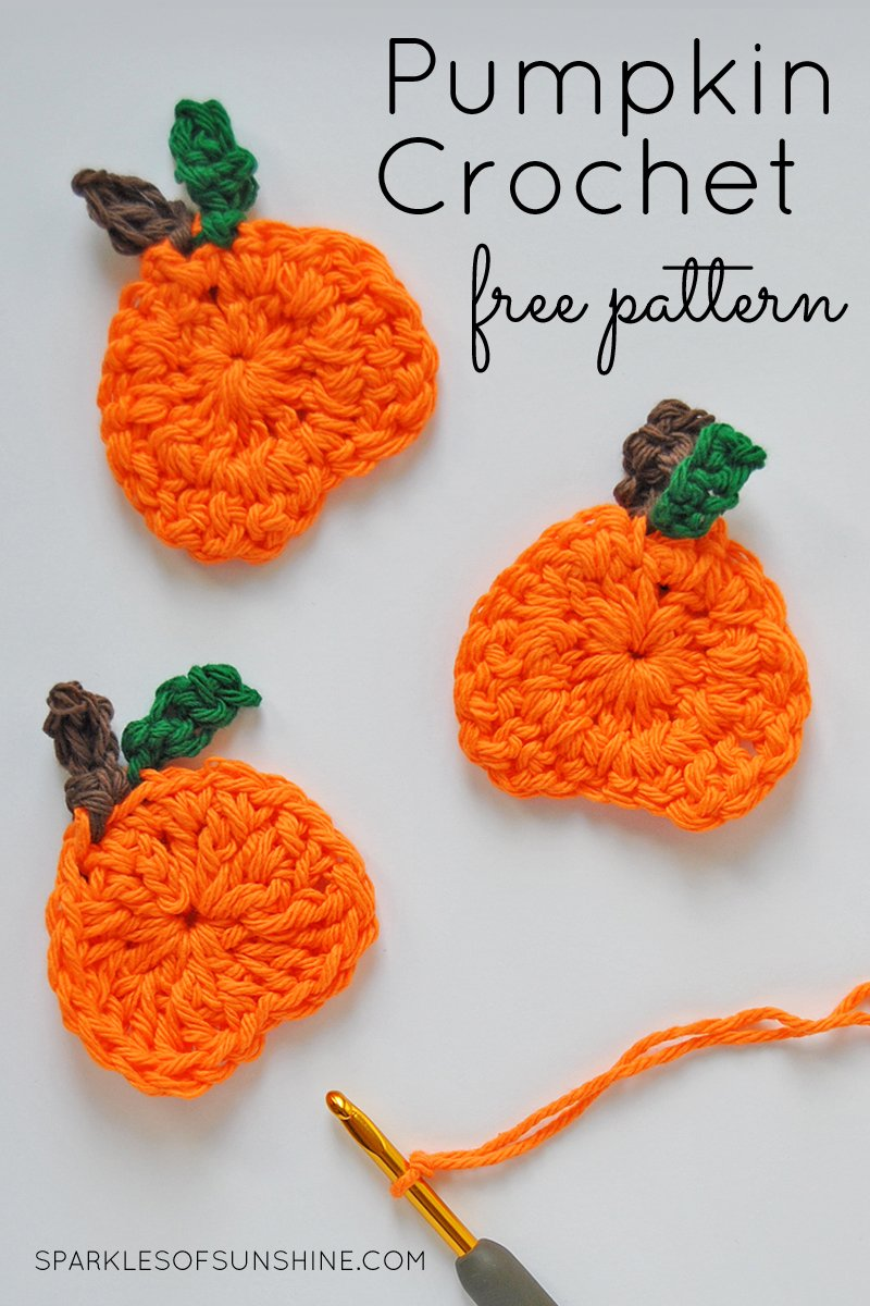 Check out this cute pumpkin crochet free pattern perfect for fall