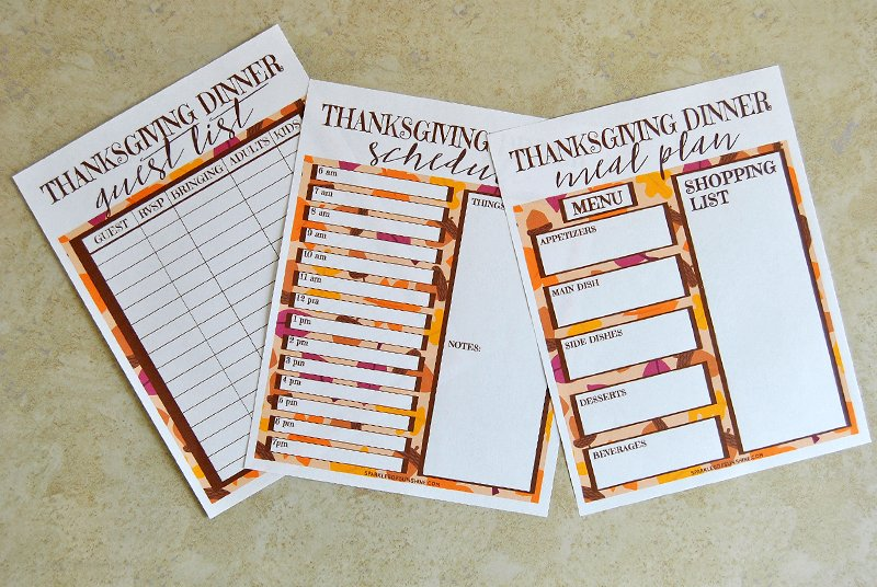 graphic regarding Thanksgiving Planner Printable called Thanksgiving Planner Absolutely free Printables - Flickers of Sunlight