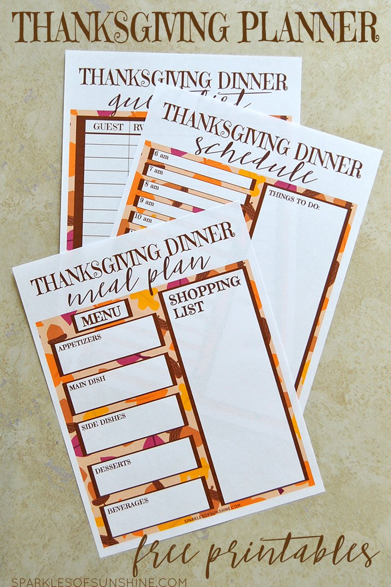 picture relating to Thanksgiving Planner Printable titled Thanksgiving Planner Free of charge Printables - Flickers of Solar