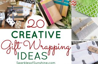 20 Creative Gift Wrapping Ideas for the Holidays