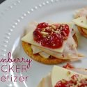 Cranberry Cracker Appetizer You Can Make at the Last Minute