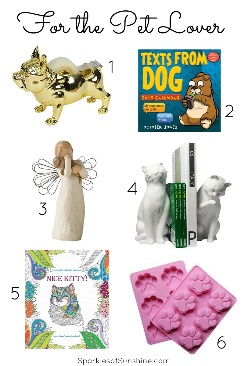 Shop easily this year holiday gift guide 2016 sparkles for Unique christmas gifts for dog lovers