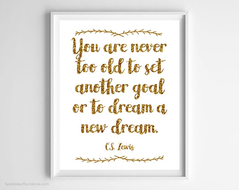 start off the new year right with an inspiring art print this cs lewis quote