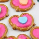 Conversation Heart Pretzel Bites for Valentine's Day
