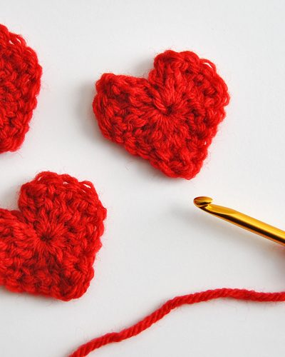 Easy & Free Heart Crochet Pattern for Valentines Day ...