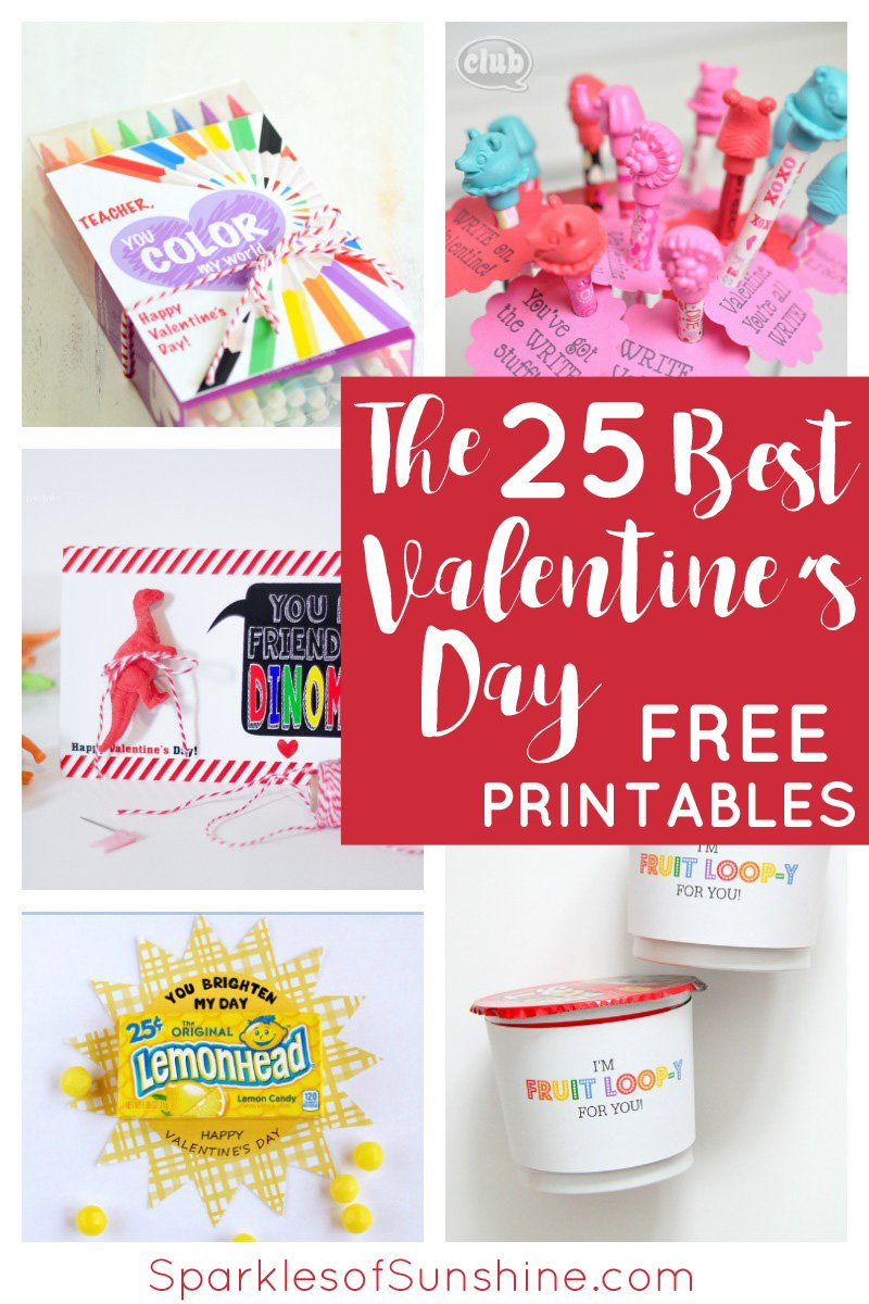 the 25 best valentine u0027s day free printables to share the love