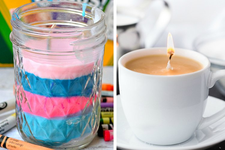 20 Beautiful DIY Candles You Can Easily Make at Home