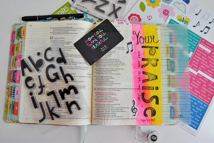 So, You Think You're Not Creative Enough for Bible Journaling?