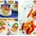 Tired of old traditional deviled eggs recipes? Check out this collection of 18 unique deviled eggs recipes to try.