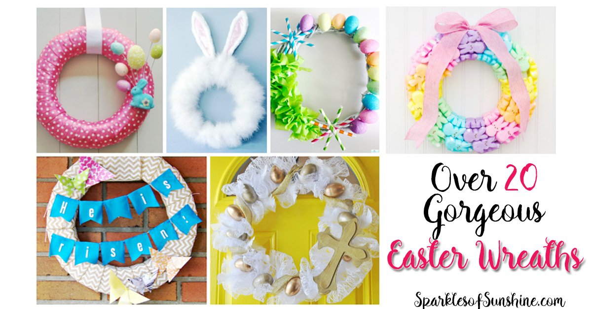 Over 20 Gorgeous Easter Wreaths You Can Make
