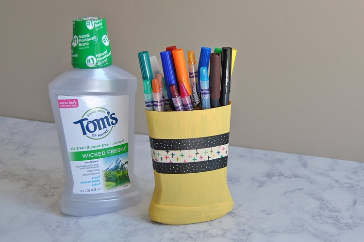 How to Make an Upcycled Pen Holder
