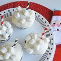 Make the holidays cozy with these super cute hot chocolate cupcakes. Get the recipe at Sparkles of Sunshine today.
