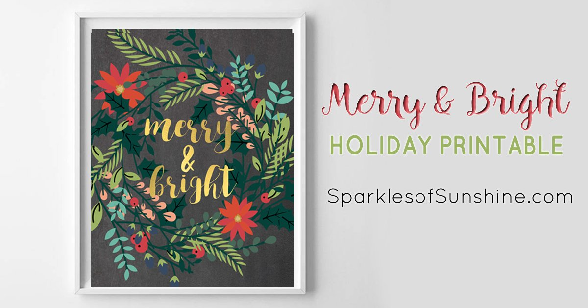Make this season merry bright with a free printable sparkles of make this season merry bright with a free printable sparkles of sunshine m4hsunfo