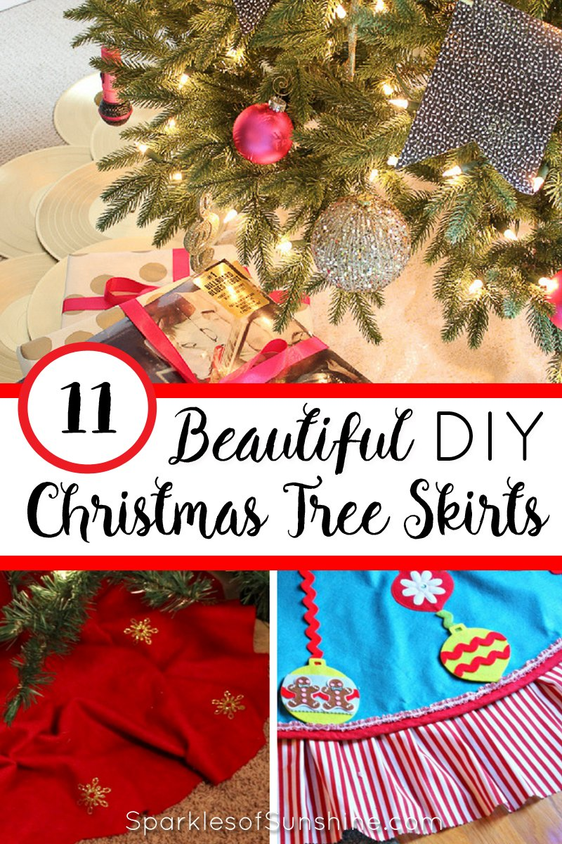 Christmas Tree Skirt Patterns.11 Beautiful Christmas Tree Skirts You Can Make Sparkles