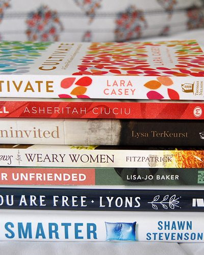 The Best Life Changing Books I Read This Year